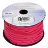 Faux Suede Lacing 50m Hot Pink